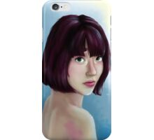 Curious Lady iPhone Case/Skin