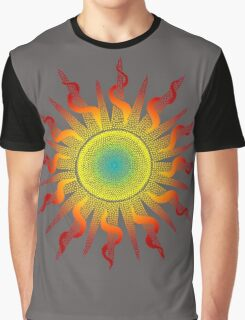 Let The Sunshine In - Dots Painting Graphic T-Shirt