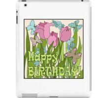 Happy Birthday. Gift birthday. iPad Case/Skin