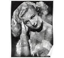 Ginger Rogers Hollywood Actress & Dancer Poster