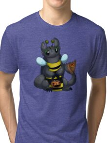 Toothless Trick or Treating Tri-blend T-Shirt