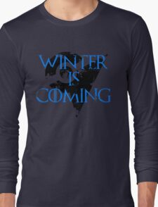 Team Mystic Winter is Coming Go - Black Long Sleeve T-Shirt