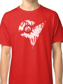Team Valor Winter Is Coming Go - White Classic T-Shirt
