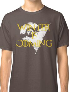 Team Instinct Winter is Coming - White Classic T-Shirt