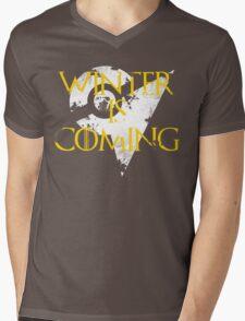 Team Instinct Winter is Coming - White Mens V-Neck T-Shirt