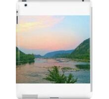 Potomac Sunset at Harpers Ferry iPad Case/Skin