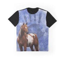 Ethnic Horse Graphic T-Shirt