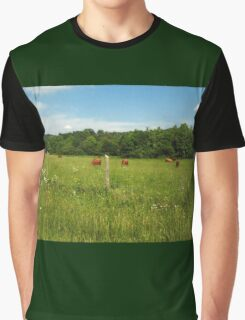 """""""Don't Bother Us Now, We're Eating""""... prints and products Graphic T-Shirt"""