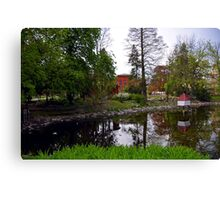 Public City Park, Bydgoszcz, Poland Canvas Print