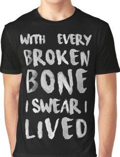 ONEREPUBLIC - I LIVED - BLACK Graphic T-Shirt