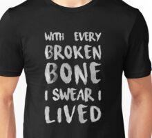 ONEREPUBLIC - I LIVED - BLACK Unisex T-Shirt