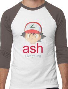 Ash K. Men's Baseball ¾ T-Shirt
