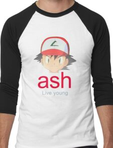 Ash K. Men's Baseball ¾ T-Shirt