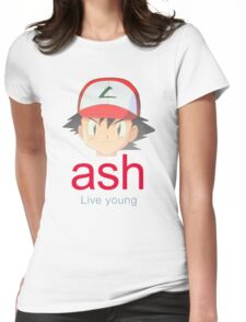 Ash K. Womens Fitted T-Shirt