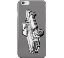 Mercedes Benz 280 SL Convertible Illustration iPhone Case/Skin