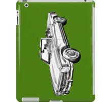 Mercedes Benz 280 SL Convertible Illustration iPad Case/Skin