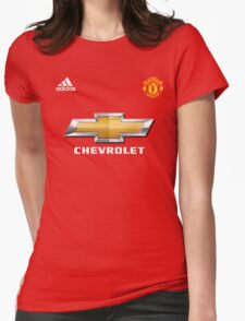 the red davils manchester Womens Fitted T-Shirt