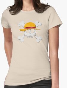 Jack Luffy Womens Fitted T-Shirt