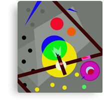 Colorful abstraction Canvas Print