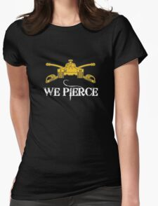 We Pierce/Armor Branch Womens Fitted T-Shirt