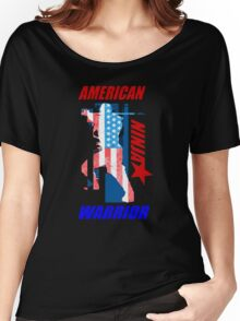 Awesome American ninja Women's Relaxed Fit T-Shirt