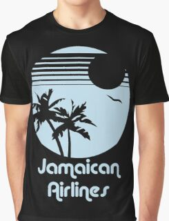 Retro Jamaican Air Lines Graphic T-Shirt