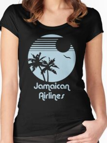 Retro Jamaican Air Lines Women's Fitted Scoop T-Shirt