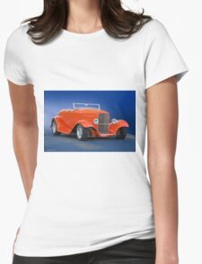 1932 Ford 'Citrus Cooler' Roadster Womens Fitted T-Shirt