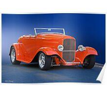 1932 Ford 'Citrus Cooler' Roadster Poster