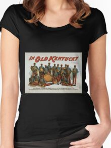 Performing Arts Posters In old Kentucky 0082 Women's Fitted Scoop T-Shirt