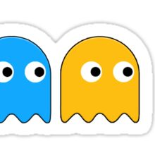 Pacman and the ghosts Sticker