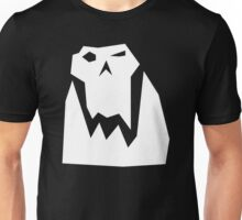 Orc head (White) Unisex T-Shirt
