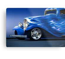1932 Ford 'Little Blue' Coupe II Metal Print