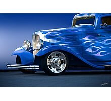 1932 Ford 'Little Blue' Coupe II Photographic Print
