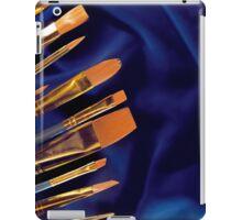 paintbrush background iPad Case/Skin