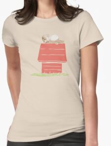 Pug House Womens Fitted T-Shirt