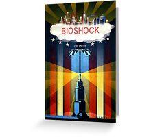 Bioshock Infinite Greeting Card
