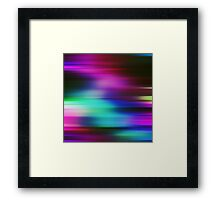 Colorful Vibrant Colorful Rays Abstract Background Framed Print