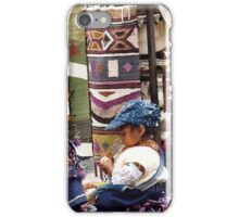 Helping my Mother iPhone Case/Skin