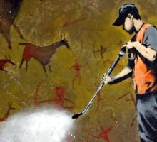 Council Worker by Banksy Sticker