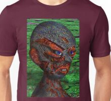 Profile Made from Shattered Reflector Unisex T-Shirt