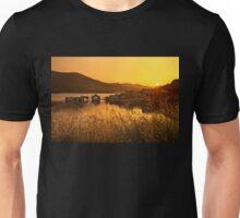Sunset of the sunken village - Crete Unisex T-Shirt