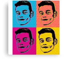 Mr Robot - Pop Art Canvas Print