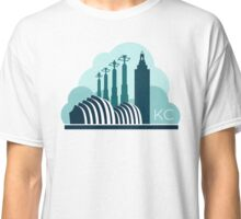 Kansas City in the Clouds Classic T-Shirt