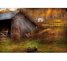 Country - Morristown, NJ - Rural refinement Photographic Print