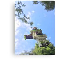 Brickography - Infinity and Beyond Canvas Print