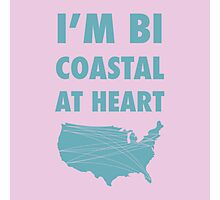 Bicoastal At Heart Photographic Print