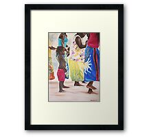 Boy and the Dancers Framed Print