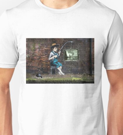 Fishing Boy Unisex T-Shirt