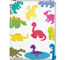collection of dinosaurs iPad Case/Skin